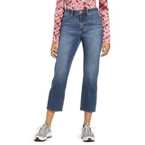 Articles of Society Kate Crop Straight Leg Jeans